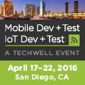 MobileDev + Test 2016  April 17-22  San Diego