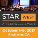STAR West  Oct 1-6  Anaheim