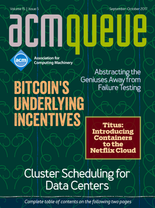 September/October issue of acmqueue