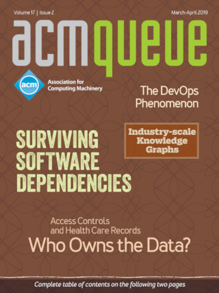 March/April 2019 issue of acmqueue