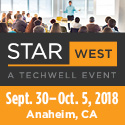 STAR WEST  September 30-Oct 5, 2018  Anaheim, CA
