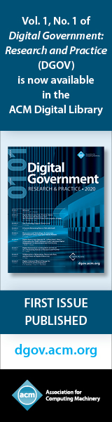 ACM Digital Government: Research & Practice (DGOV)